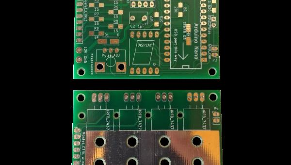 New Spot Welder PCBs V2.2