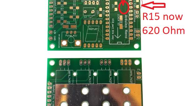 New batch of V2.2 Spot Welder PCBs