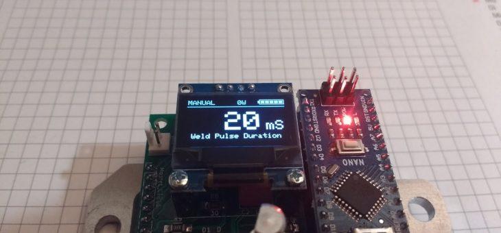 Big Software Update for the Arduino Spot Welder