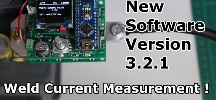 Spot Welder Software Update 3.2.1