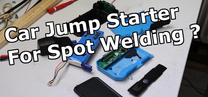 Car jump starter as welding current supply ?